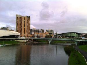Ez meg az új híd az Elder Parkban